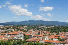 Zagreb hill Sljeme Royalty Free Stock Photo
