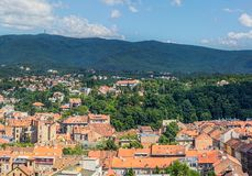 Zagreb hill Sljeme Stock Photos