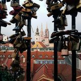 Zagreb katedra Fotografia Royalty Free