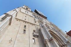 Zagreb katedra zdjęcie royalty free