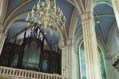 Zagreb-Kathedrale Lizenzfreie Stockbilder