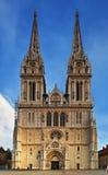 Zagreb-Kathedrale lizenzfreie stockfotografie