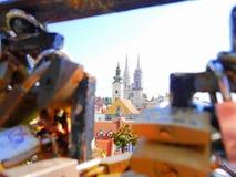 Zagreb-Kathedrale stockfoto