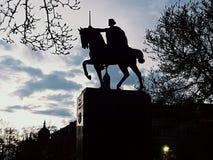 Zagreb królewiątka tomislav Fotografia Royalty Free
