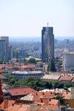 Zagreb, Kroatië stock afbeelding