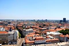 Zagreb, Kroatië stock afbeeldingen