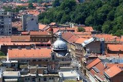 Zagreb, Kroatië stock fotografie