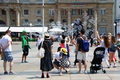 Zagreb, Kroatië royalty-vrije stock foto