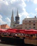 Zagreb Kroatië Royalty-vrije Stock Afbeeldingen