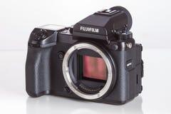 28 05 2017, Zagreb, KROATIË: Fujifilmgfx jaren '50, 43 8 x 32 9mm 5 Royalty-vrije Stock Fotografie