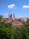Zagreb, Kroati? royalty-vrije stock foto