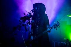 """Zagreb Kroatien†""""kan 30 2019 Konsert av den gotiska rockbandet Christian Death f?r kult i Zagreb arkivfoton"""