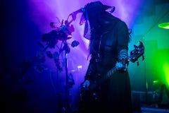 """Zagreb Kroatien†""""kan 30 2019 Konsert av den gotiska rockbandet Christian Death f?r kult i Zagreb fotografering för bildbyråer"""