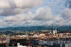Zagreb Kroatien Royaltyfria Foton