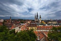 zagreb kroatien lizenzfreies stockbild
