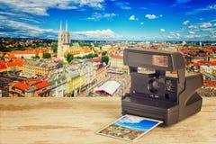 Zagreb, Kroatien lizenzfreie stockbilder