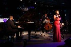 Konsert av Mary Millben Royaltyfri Fotografi