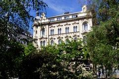 Zagreb, Kroatien, Hotel-Palast Stockbild