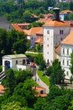 Zagreb, Lotrščak Tower Stock Photos