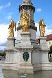 Zagreb Mary Column Lizenzfreies Stockbild