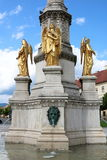 Zagreb Mary Column Royalty-vrije Stock Afbeelding