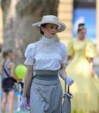 Zagreb/moda del siglo XIX Fotografía de archivo