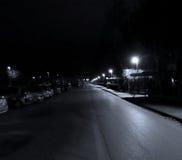 Zagreb Noc Zdjęcia Royalty Free