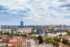 Zagreb, panorama Image libre de droits