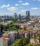 Zagreb, panorama Foto de Stock