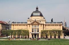 Zagreb: Pavilhão da arte Imagens de Stock Royalty Free