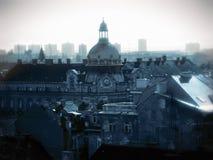 Zagreb roofs Stock Photos