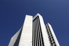 Zagreb's business tower. Called Zagerbcanka Royalty Free Stock Photo