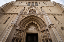 Zagreb's Cathedral Stock Image