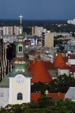 Zagreb skyline2 Fotografía de archivo libre de regalías