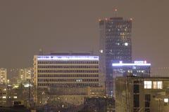 Zagreb skyskrapa Arkivfoton