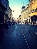 Zagreb stad Arkivbild
