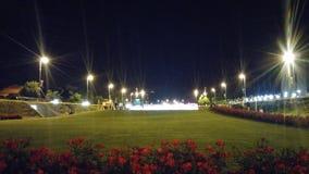 Zagreb stadsspringbrunnar Royaltyfri Bild