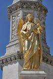 Zagreb statue royalty free stock image