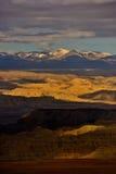 Zagreb till Tibet berget för morgonsolsnö Royaltyfri Fotografi