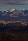 Zagreb to Tibet the morning sun Snow mountain Royalty Free Stock Photography