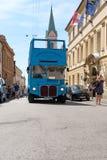 Zagreb, vieil autobus pour des touristes Photo stock