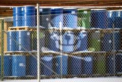 zagrożenie odpady Zdjęcia Stock