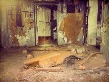 Zagrożenie pusty pokój Fotografia Royalty Free