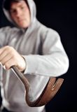 Zagrożenie Twój Domowa ochrona Obraz Stock
