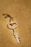 zagubiony klucz Fotografia Royalty Free