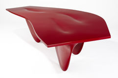 Zaha Hadid Aqua Table Stock Photo