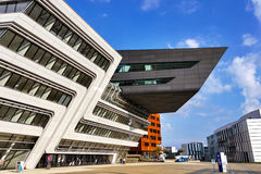 Zaha Hadid - architectuur Royalty-vrije Stock Fotografie
