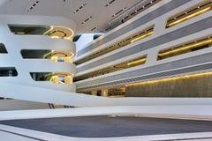 Zaha Hadid - arquitectura Fotografía de archivo libre de regalías