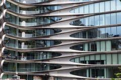 Zaha Hadid Condos Chelsea, New York Royaltyfri Fotografi