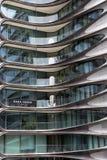 Zaha Hadid mieszkania własnościowe, Chelsea, Nowy Jork Fotografia Royalty Free